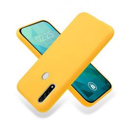 ETUI GUMA SMOOTH NA TELEFON OPPO A8 / A31 2020 POMARAŃCZOWY