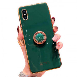 ETUI JOLESS RING NA TELEFON APPLE IPHONE 12 / 12 PRO ZIELONY