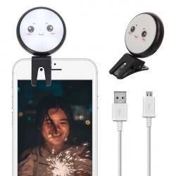 LAMPA DO TELEFONU SELFIE BEAUTY FILL CZARNY WZ3