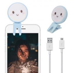 LAMPA DO TELEFONU SELFIE BEAUTY FILL NIEBIESKI WZ1