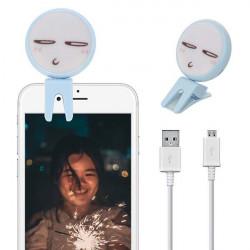 LAMPA DO TELEFONU SELFIE BEAUTY FILL NIEBIESKI WZ2