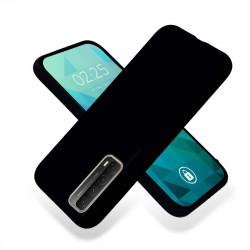 ETUI GUMA SMOOTH NA TELEFON SAMSUNG GALAXY A90 5G CZARNY