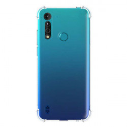 ETUI ANTI-SHOCK NA TELEFON MOTOROLA MOTO G8 POWER LITE TRANSPARENT