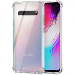 ETUI ANTI-SHOCK NA TELEFON SAMSUNG GALAXY S10 5G TRANSPARENT