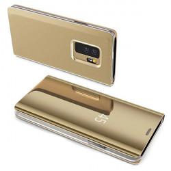 ETUI BOOK CLEAR VIEW NA TELEFON SAMSUNG GALAXY A52 5G ZŁOTY