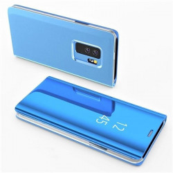ETUI BOOK CLEAR VIEW NA TELEFON XIAOMI MI 10T 5G / MI 10T PRO 5G NIEBIESKI