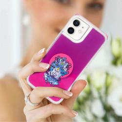 ETUI LIQUID NEON NA TELEFON APPLE IPHONE 12 MINI RÓŻOWY ST_CBR-2020-2-205