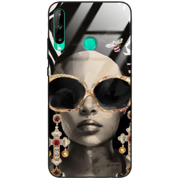 ETUI BLACK CASE GLASS NA TELEFON HUAWEI P40 LITE E ST_JODI-PEDRI-2021-2-201