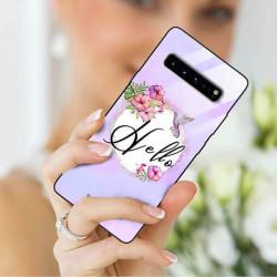 ETUI BLACK CASE GLASS NA TELEFON SAMSUNG GALAXY S10 5G ST_SPRING-2021-2-204