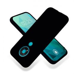 ETUI GUMA SMOOTH NA TELEFON NOKIA 3.4 CZARNY