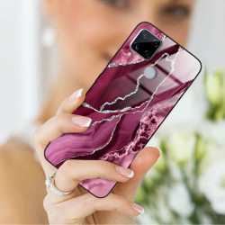 ETUI BLACK CASE GLASS NA TELEFON REALME C15 ST_AGST-201