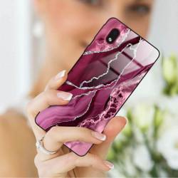 ETUI BLACK CASE GLASS NA TELEFON SAMSUNG GALAXY A01 CORE ST_AGST-201