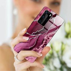 ETUI BLACK CASE GLASS NA TELEFON HUAWEI P40 PRO PLUS ST_AGST-201