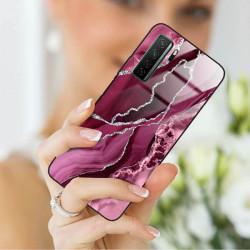 ETUI BLACK CASE GLASS NA TELEFON HUAWEI NOVA 7 SE ST_AGST-201