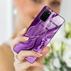 ETUI BLACK CASE GLASS NA TELEFON SAMSUNG GALAXY S20 PLUS ST_AGST-202