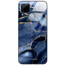 ETUI BLACK CASE GLASS NA TELEFON REALME C15 ST_AGST-203