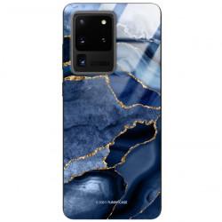 ETUI BLACK CASE GLASS NA TELEFON SAMSUNG GALAXY S20 ULTRA ST_AGST-203