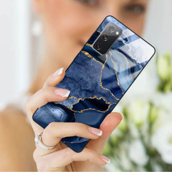 ETUI BLACK CASE GLASS NA TELEFON SAMSUNG GALAXY S20FE / S20 LITE ST_AGST-203