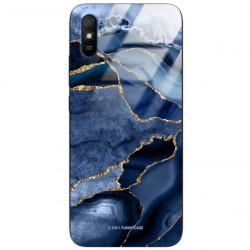 ETUI BLACK CASE GLASS NA TELEFON XIAOMI REDMI 9A ST_AGST-203