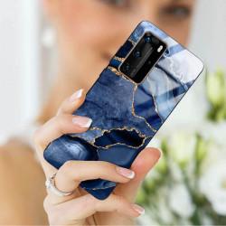 ETUI BLACK CASE GLASS NA TELEFON HUAWEI P40 PRO PLUS ST_AGST-203