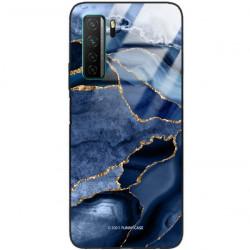 ETUI BLACK CASE GLASS NA TELEFON HUAWEI NOVA 7 SE ST_AGST-203