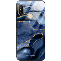 ETUI BLACK CASE GLASS NA TELEFON XIAOMI REDMI NOTE 6 / 6 PRO ST_AGST-203