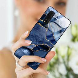 ETUI BLACK CASE GLASS NA TELEFON OPPO FIND X2 ST_AGST-203