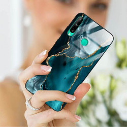 ETUI BLACK CASE GLASS NA TELEFON HUAWEI P40 LITE E ST_AGST-204