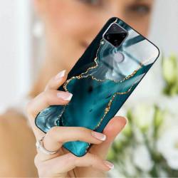 ETUI BLACK CASE GLASS NA TELEFON REALME C15 ST_AGST-204