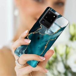 ETUI BLACK CASE GLASS NA TELEFON SAMSUNG GALAXY S20 ULTRA ST_AGST-204
