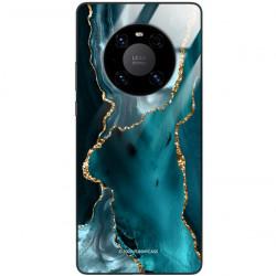 ETUI BLACK CASE GLASS NA TELEFON HUAWEI MATE 40 PRO PLUS ST_AGST-204