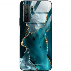 ETUI BLACK CASE GLASS NA TELEFON HUAWEI NOVA 7 SE ST_AGST-204
