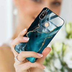 ETUI BLACK CASE GLASS NA TELEFON XIAOMI REDMI NOTE 6 / 6 PRO ST_AGST-204