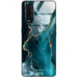 ETUI BLACK CASE GLASS NA TELEFON OPPO FIND X2 ST_AGST-204