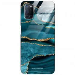 ETUI BLACK CASE GLASS NA TELEFON OPPO A52 / A72 ST_AGST-205