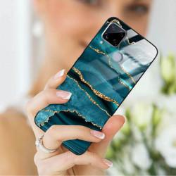 ETUI BLACK CASE GLASS NA TELEFON REALME C15 ST_AGST-205