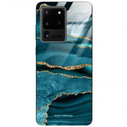 ETUI BLACK CASE GLASS NA TELEFON SAMSUNG GALAXY S20 ULTRA ST_AGST-205