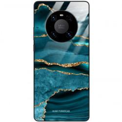 ETUI BLACK CASE GLASS NA TELEFON HUAWEI MATE 40 PRO PLUS ST_AGST-205