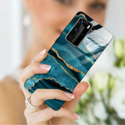 ETUI BLACK CASE GLASS NA TELEFON HUAWEI P40 PRO PLUS ST_AGST-205
