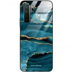 ETUI BLACK CASE GLASS NA TELEFON HUAWEI NOVA 7 SE ST_AGST-205