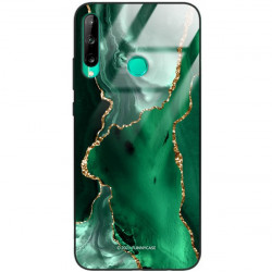 ETUI BLACK CASE GLASS NA TELEFON HUAWEI P40 LITE E ST_AGST-206