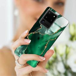 ETUI BLACK CASE GLASS NA TELEFON SAMSUNG GALAXY S20 ULTRA ST_AGST-206
