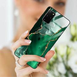 ETUI BLACK CASE GLASS NA TELEFON SAMSUNG GALAXY S20 PLUS ST_AGST-206
