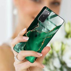 ETUI BLACK CASE GLASS NA TELEFON SAMSUNG GALAXY S20FE / S20 LITE ST_AGST-206