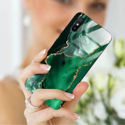 ETUI BLACK CASE GLASS NA TELEFON XIAOMI REDMI 9A ST_AGST-206