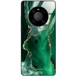 ETUI BLACK CASE GLASS NA TELEFON HUAWEI MATE 40 PRO PLUS ST_AGST-206