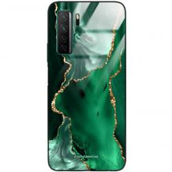 ETUI BLACK CASE GLASS NA TELEFON HUAWEI NOVA 7 SE ST_AGST-206