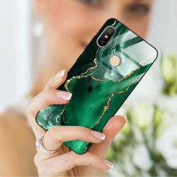 ETUI BLACK CASE GLASS NA TELEFON XIAOMI REDMI NOTE 6 / 6 PRO ST_AGST-206