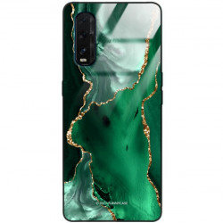 ETUI BLACK CASE GLASS NA TELEFON OPPO FIND X2 ST_AGST-206