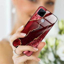 ETUI BLACK CASE GLASS NA TELEFON REALME C15 ST_AGST-207